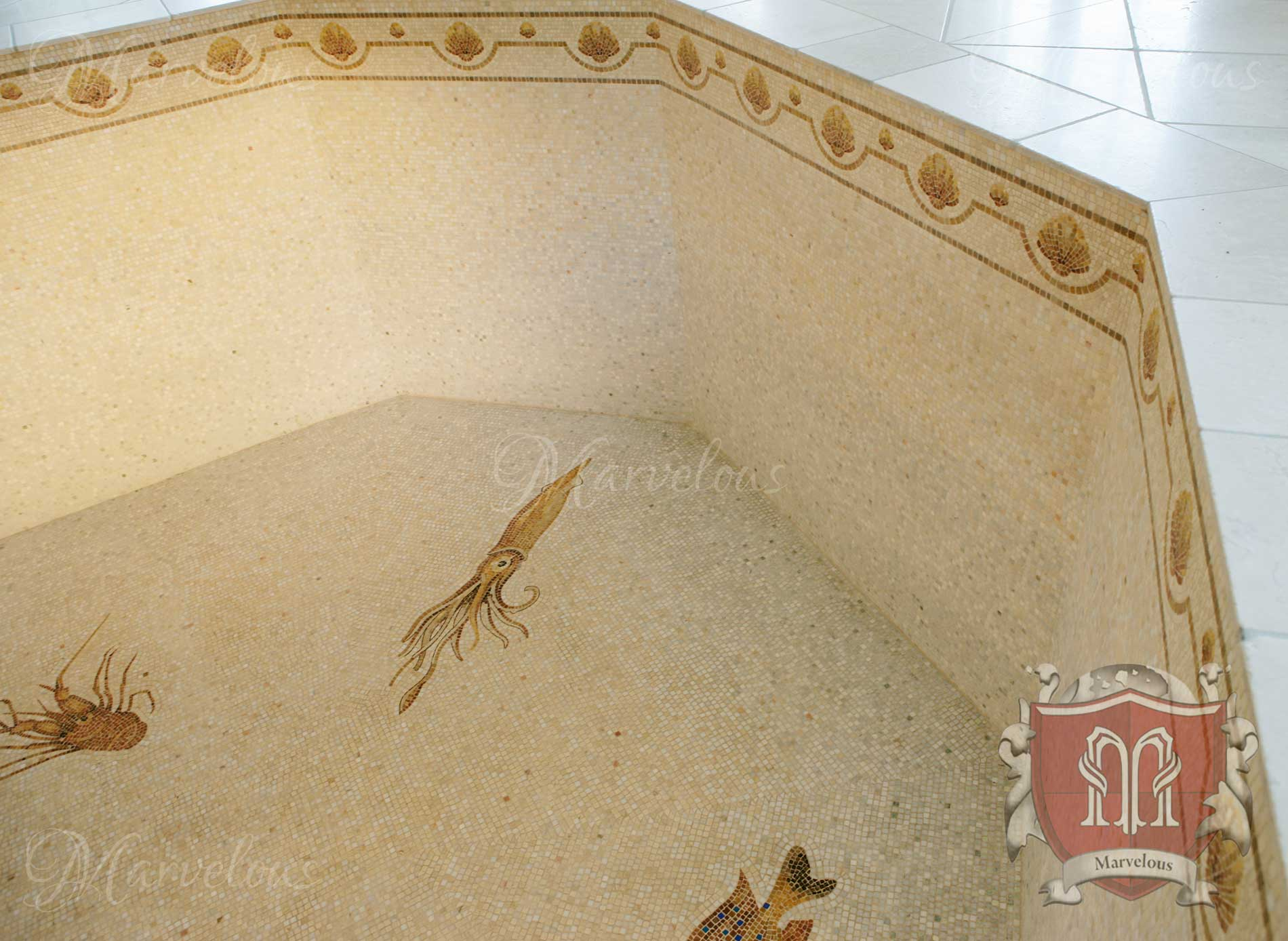 Marble Pool Mosaic: Mare Doro