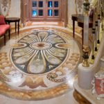 Marble Floor Mosaic: Cavatina