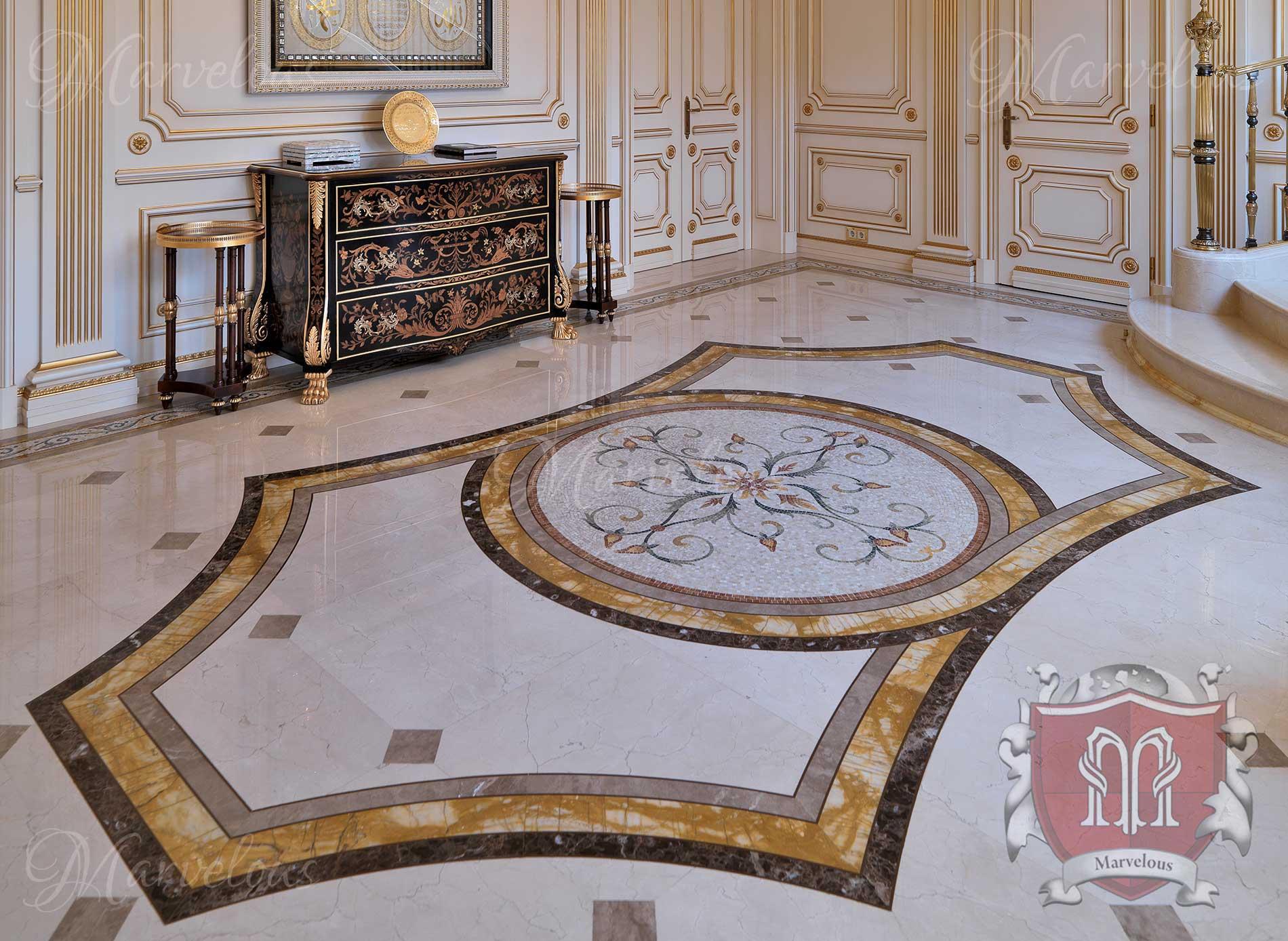 Marble Floor Mosaic: Pasticcio