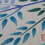 Marble Religious Mosaic: Aparecida Brasile